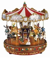 "Mr. Christmas Gold Label ""The Carousel"" Music Box"