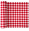 MyDrap Gingham Placemat 12 /roll - Red Gingham