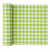 MyDrap Cotton Printed Luncheon Napkin - 20 /roll - Pistachio Vichy