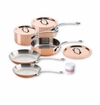 Mauviel M150S 8 Piece Copper Cookware Set