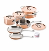 Mauviel M150S 10 Piece Copper Cookware Set