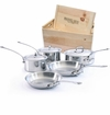 Mauviel M'Cook 8 Piece Set W/Crate