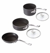 Mauviel M'Stone2 5 Piece Nonstick Cookware Set W/ Glass Lids & Crate