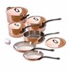 Mauviel M150C 10 Piece Copper Cookware Set