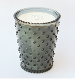 Simpatico Hobnail Glass Candle - 16 oz Fern