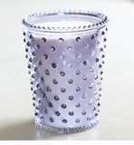 Simpatico Hobnail Glass Candle - 16 oz Cozy