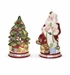 Spode Christmas Tree Santa & Tree Salt & Pepper Shakers