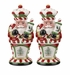 Spode Christmas Tree Nutcracker Peppermint Salt & Pepper Shakers