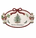 Spode Christmas Tree Nutcracker Peppermint Platter With Merry Christmas