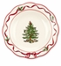 Spode Christmas Tree Sculpted Hostess Plate