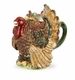Spode Harvest Turkey Teapot