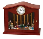 Mr. Christmas Animated Musical Chimes Music Box - Train