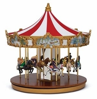 Mr. Christmas Classic Carousel Music Box