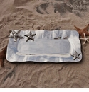 Beatriz Ball Ocean Starfish Long Tray, Large