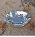 Beatriz Ball Ocean Starfish Oval Bowl, Large