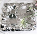 Beatriz Ball Collection Fine Metalware Vento Large Square Platter