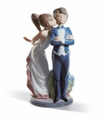 Lladro Let's Make Up Figurine