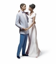 Lladro A Lovers' Dance Figurine