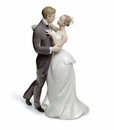 Lladro Lovers' Waltz Figurine