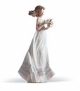 Lladro Butterfly Treasures Figurine