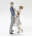 Lladro Happy Encounter Figurine