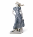 Lladro Mediterranean Breeze (Blue) Figurine