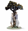 Lladro The Tree Of Love Figurine