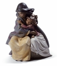 Lladro Sisterly Love Figurine