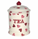 Emma Bridgewater Pink Hearts Tea Storage Jar