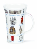 Dunoon Mug - London Memorabilia Mug 16.9 Oz.