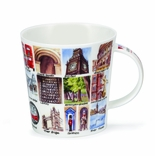 Dunoon Mug - London Alphabet Mug 16.2 Oz.