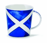 Dunoon Mug - Saltire Scottish Flag Mug 16.2 Oz.