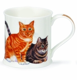 Dunoon Mug - Cats Mug - Classic Tabbies 10 Oz.