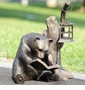 Booklover Bear Garden Lantern by SPI Home
