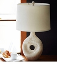 Vietri Modern Collection Round Speckle Lamp
