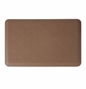 "Wellness Mats Anti-Fatigue Floor Mat Moire Brown - 36""L x 24""W"