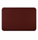 "Wellness Mats Anti-Fatigue Floor Mat Entwine Burgundy - 36""L x 24""W"
