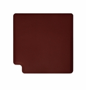 "Wellness Mats Anti-Fatigue Floor Mat 3' Corner Mat Burgundy 90� Corner - 36""W"