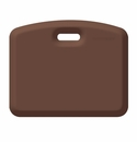 "Wellness Mats Anti-Fatigue Floor Mat Companion Brown - 18""L x 22""W"