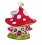 Christopher Radko Mushroom Hideaway Ornament