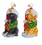 Christopher Radko Labrador Lucky Ornament