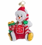 Christopher Radko Frosty Baby Ornament