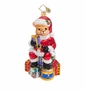 Christopher Radko Teddy Claus Ornament
