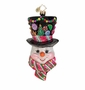 Christopher Radko Sugared Chapeu Ornament
