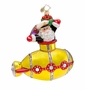 Christopher Radko Undersea Santa Ornament