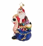 Christopher Radko St. Nick Checklist Ornament