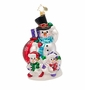 Christopher Radko The Family Snow Ornament
