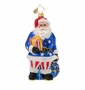 Christopher Radko Country Loving Claus Ornament
