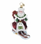 Christopher Radko Snowdrift Nicolai Ornament