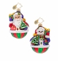 Christopher Radko A Festive Pair Little Gem Ornament